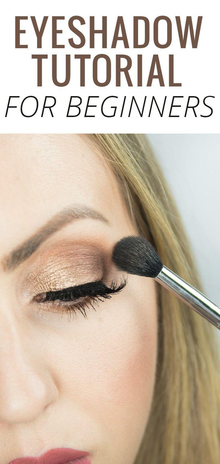 Eyeshadow Tutorial for Beginners Step by Step