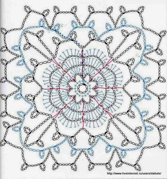 Mooie bloem om te verwerken op een omslagdoek of Sjaal