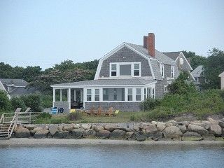 Direct oceanfront on Lewis Bay; gorgeous, comfortable home on private wayVacation Rental in West Yarmouth from @homeaway! #vacation #rental #travel #homeaway