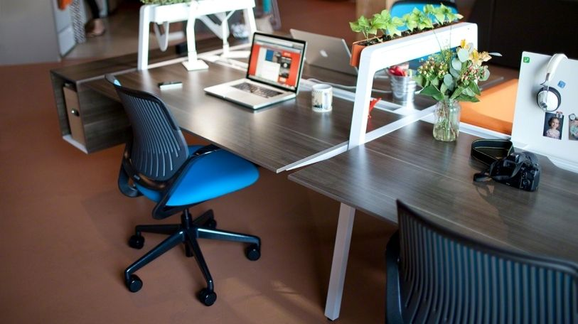 Bivi Modular Office Desk System Features | Office furniture, Desks ...