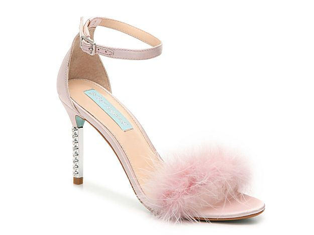 328e7fb21e352 Blitz Pearl Sandal - Elegance and pure style encompass the Blitz Pearl by  Betsey Johnson. Step into this satin evening sandal that flaunt a  rhinestone ...