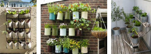 Id e d co am nager un petit jardin dans son appartement balcon pinterest gardening Deco balcon appartement