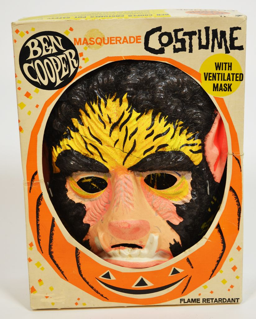 Wait, is the mask ventilated? Vintage halloween costume