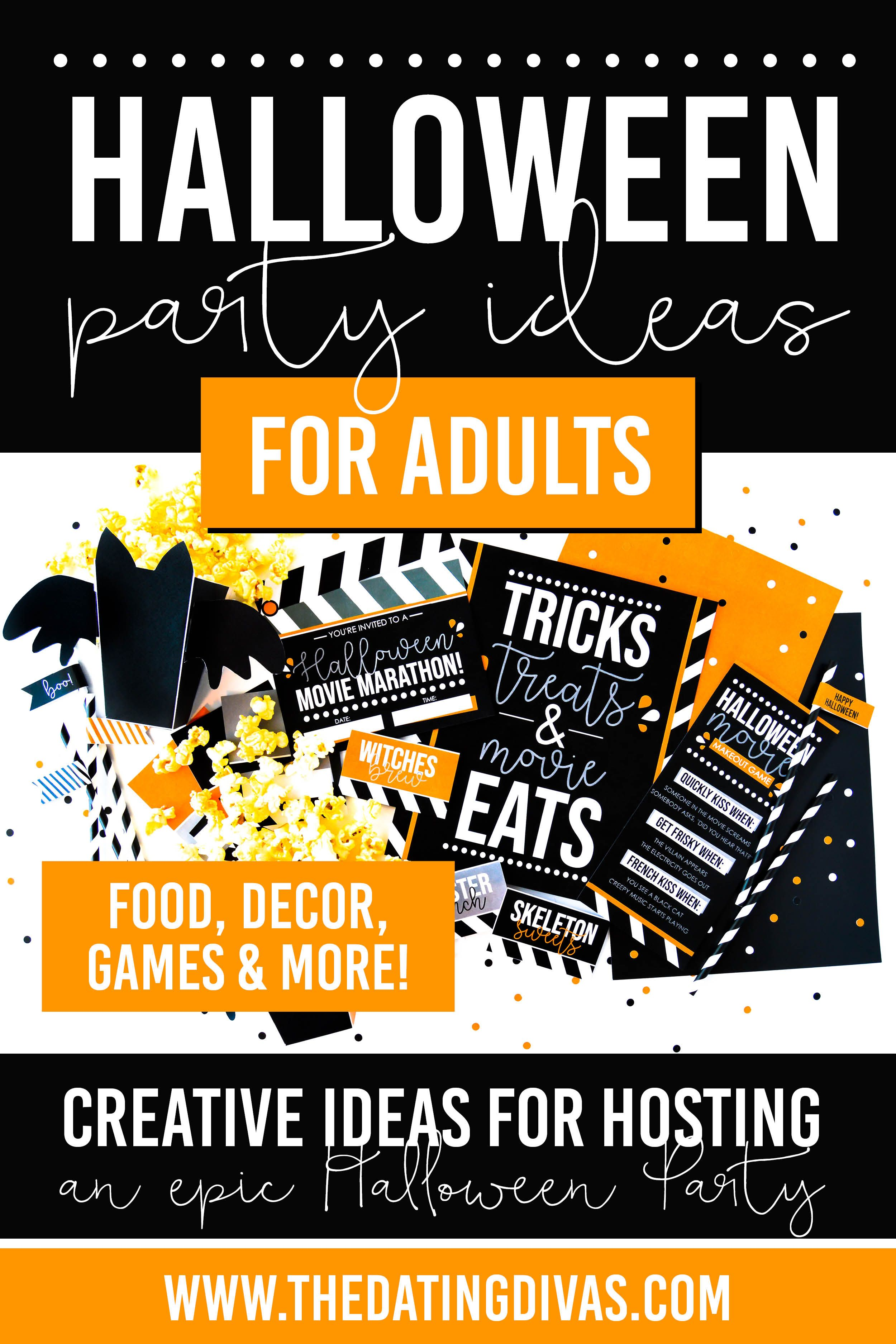 Get Our Adult Halloween Party Ideas Adult halloween