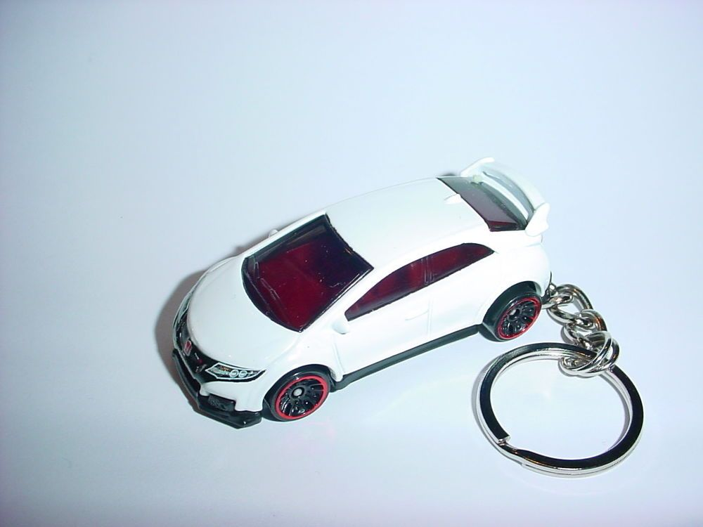 . HONDA MOTORCYCLE AND CAR  KEYRING CLASSIC BLACK,WHITE AND RED