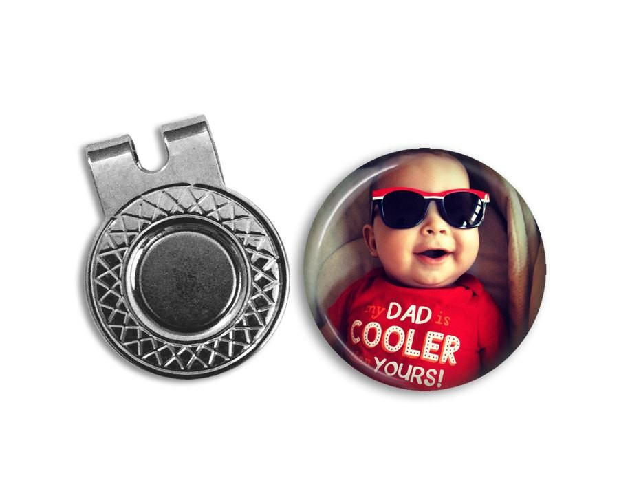 Personalized Photo Magnetic Golf Ball Marker Hat Clip Set In 2021 Golf Ball Markers Golf Gifts For Men Golf Birthday Gifts