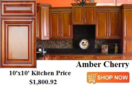 Amber Cherry Cabinets From CabinetsDirectRTA.com | 10x10 ...