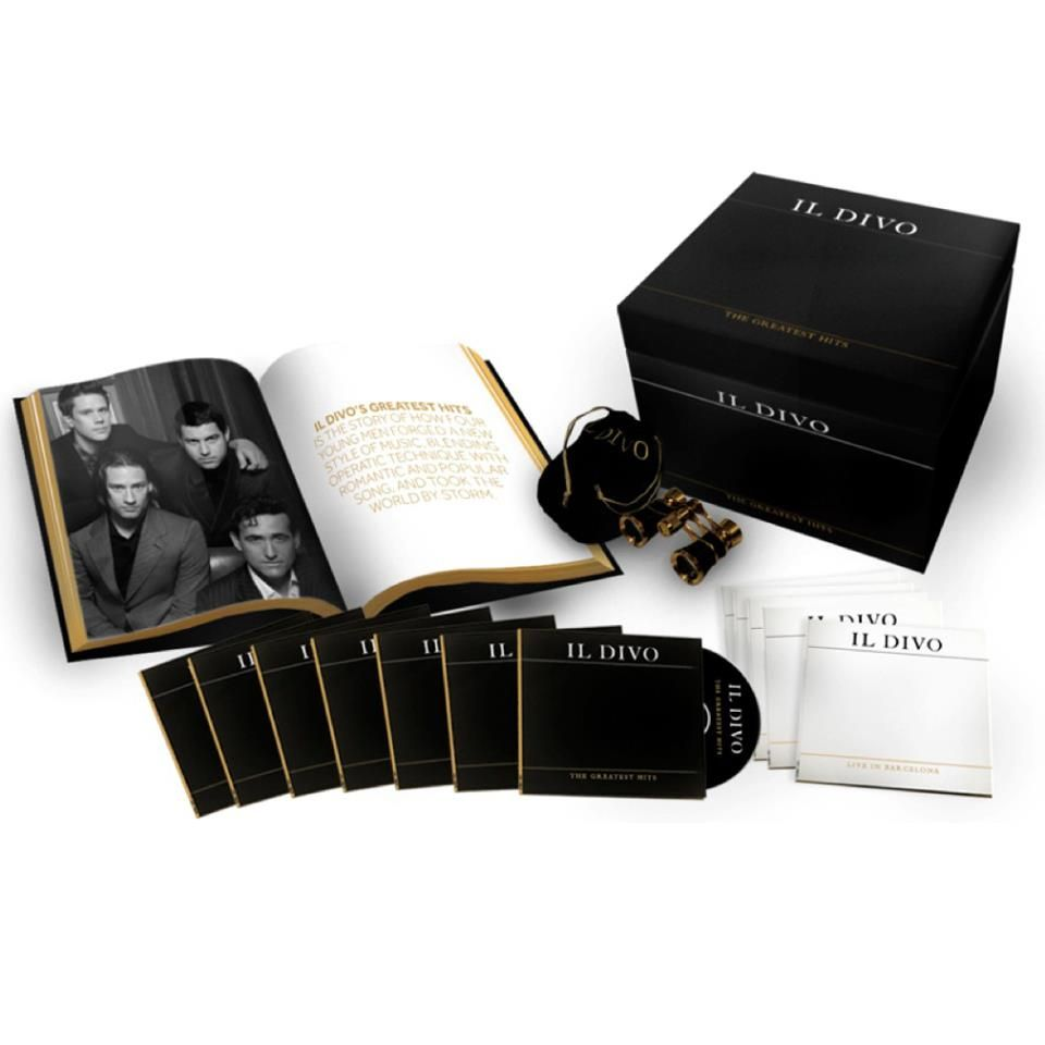 Il Divo - The Greatest Hits is available for pre-order now: http ...