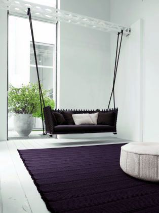 Indoor Designer Hollywoodschaukel von Paola Lenti ...