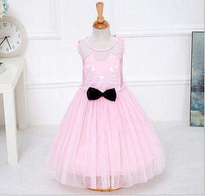 Girls Princess Cat Dress Toddler Baby Wedding Party Pageant Tulle pink 4-5 year https://t.co/wUceRLsEbL https://t.co/XGOw9IAPiR