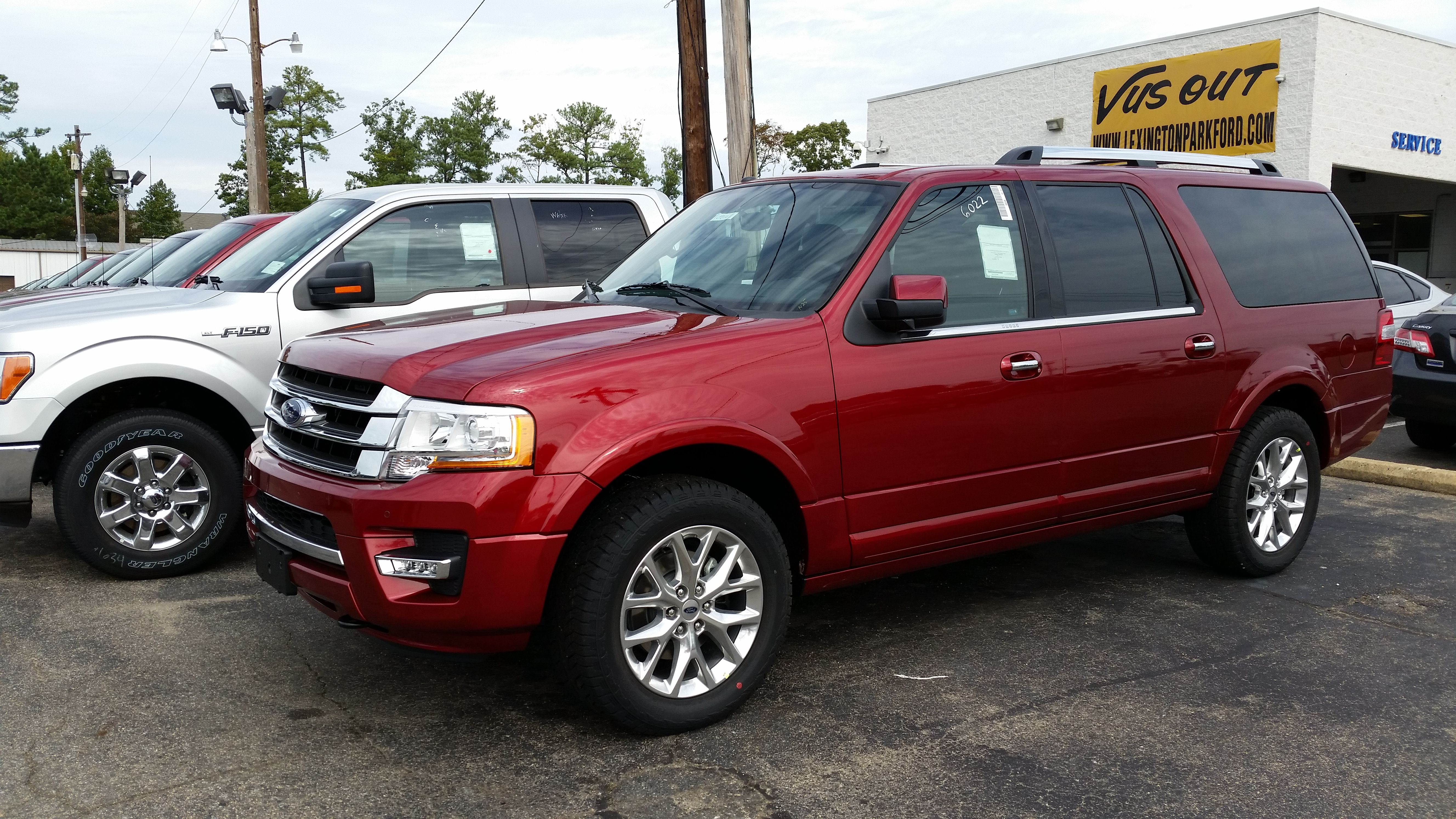 Wow Awesome Suv 2015 Limited 4wd Ford Expedition El With 3 5l