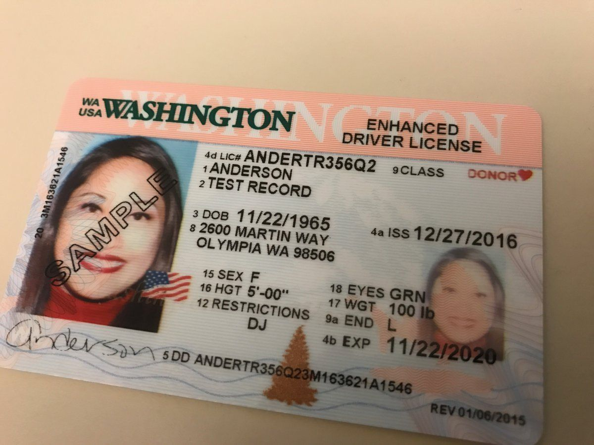 In One Year S Time A Regular Washington Driver S License May Not