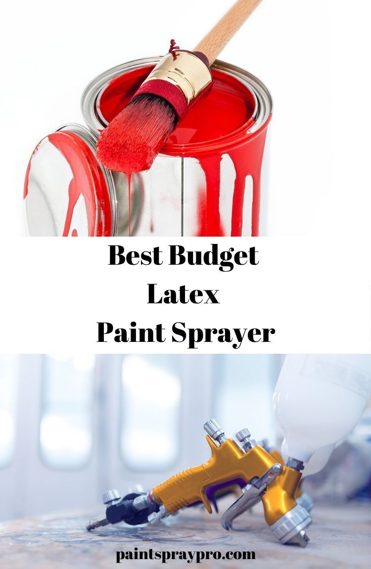 32++ Paint sprayer for latex paint ideas in 2021