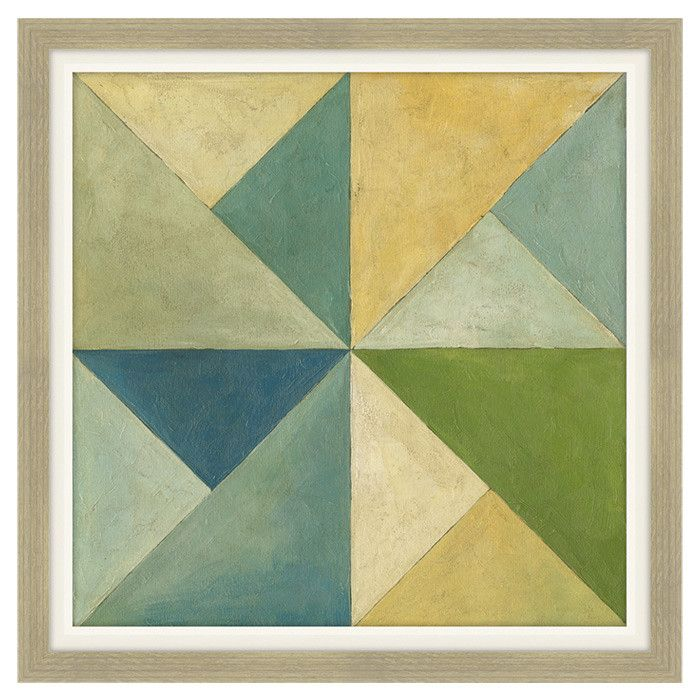 Quilted Abstract Wall Art II | furniture | Pinterest | Abstract wall ...