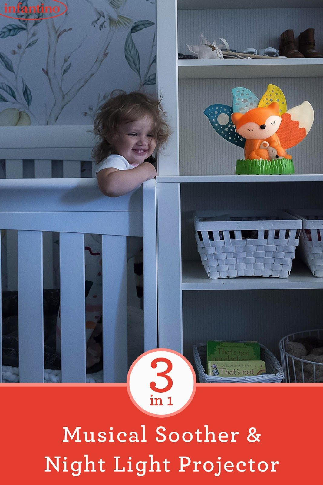 3 In 1 Musical Soother Night Light Projector Best Baby Night
