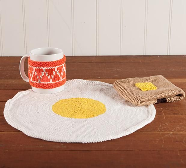 Breakfast Of Champions Set Free Knitting Pattern For An Egg