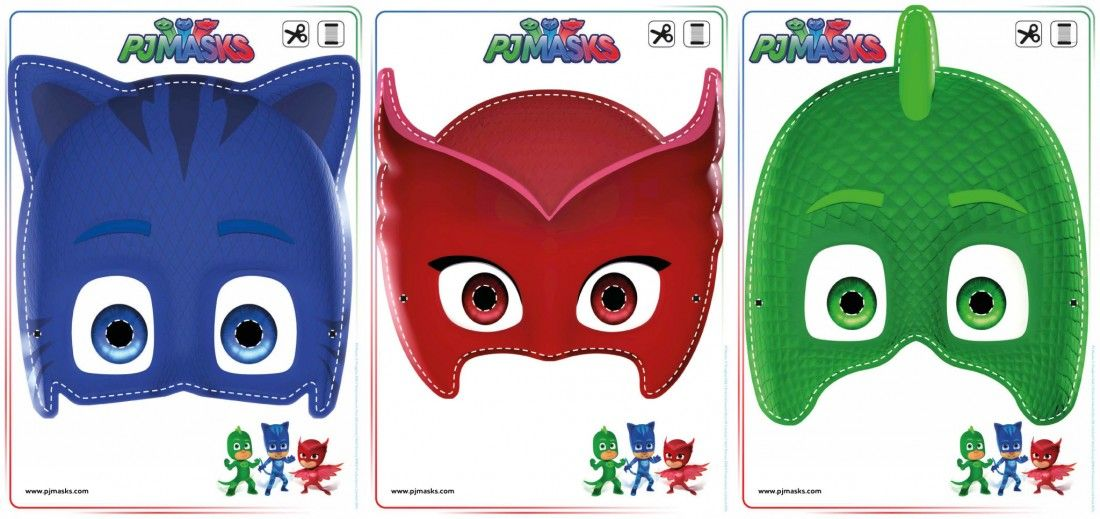 image regarding Pj Masks Mask Printable named Printables - PJ Masks Owlette, Gekko, Catboy Masks celebration