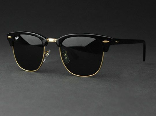 37e0b06ee99390 RayBan Clubmaster Ebony   Men and Class   Pinterest