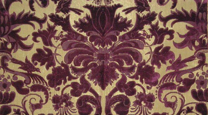 tessuti per arredamento nel xvii secolo | fili preziosi ... - Tessuti Per Arredamento