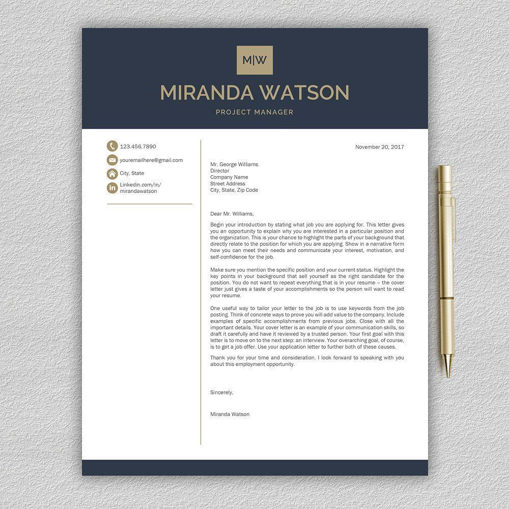 Resume Template CV Template by Pro.Graphic.Design on