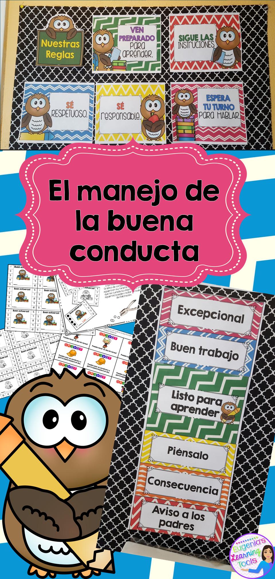 Las reglas de la clase   SPANISH Learning   Pinterest