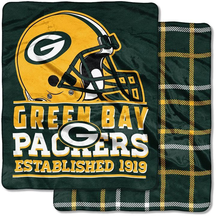 Green Bay Packers Home Field Cloud DoubleSided Throw Blanket For Extraordinary Green Bay Packers Throw Blanket