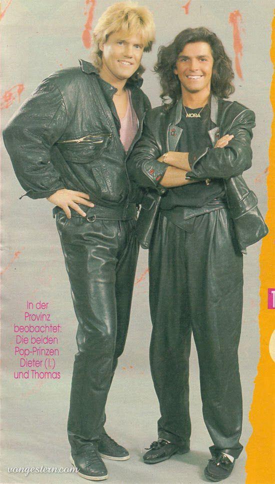 Modern Talking 80spartyoutfits Modern Talking Modern Talking 80s Party Outfits 1980s Fashion
