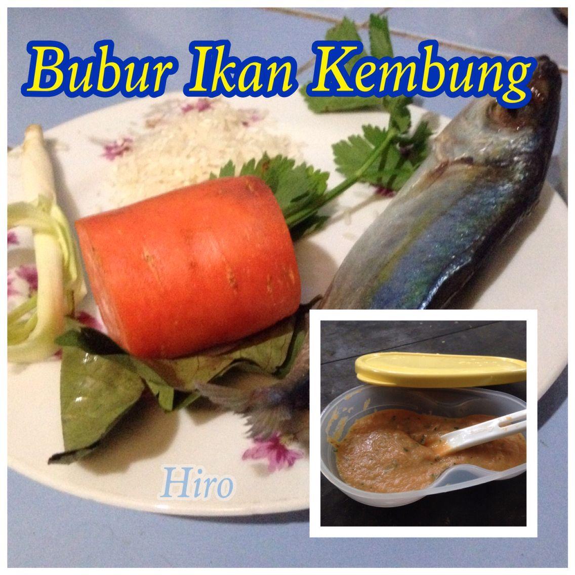 Mackerel Porridge For 7m Baby Bubur Ikan Kembung Untuk Bayi 7bulan Ke Atas Makanan Pendamping Makanan Bayi Makanan
