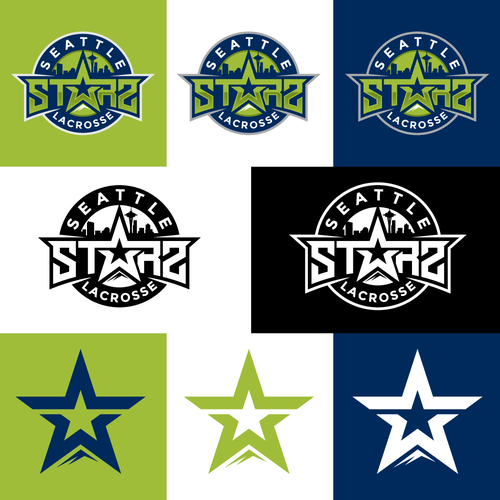 Seattle Starz Lacrosse Pro Level Lacrosse Team Logo We Are A Youth And High School Select Lacrosse Club Players Are Athlet Lacrosse Team Team Logo Lacrosse