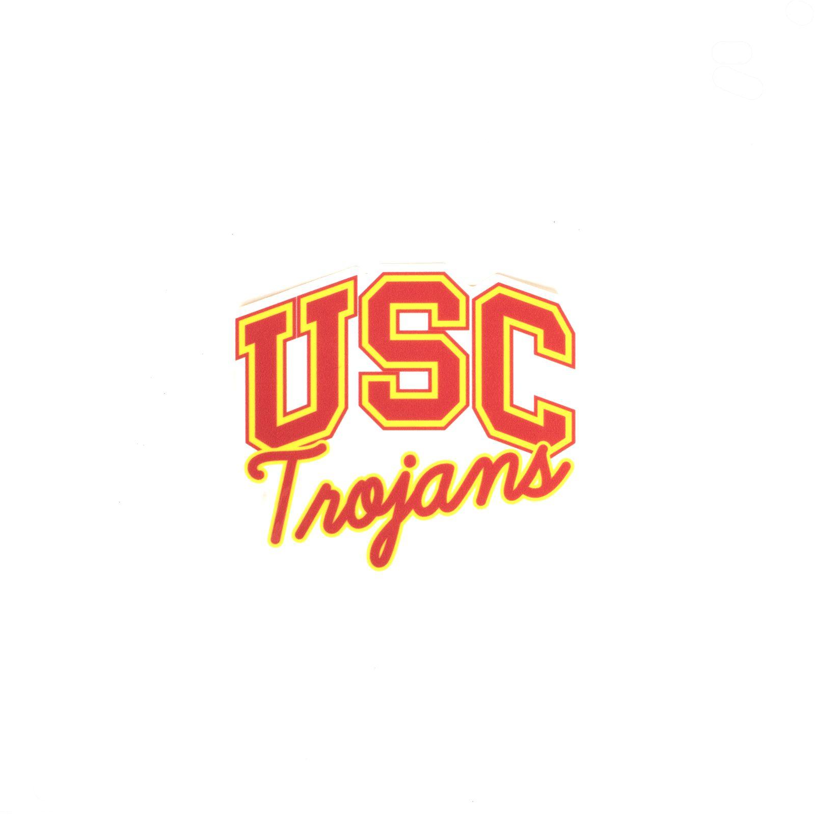 Usc Trojans Small Sticker Usc Trojans Usc Usc Trojans Football