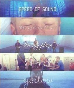 #SpeedOfSound #TheScientist #InMyPlace #Shiver #Yellow #Coldplay #ChrisMartin #song #lyrics