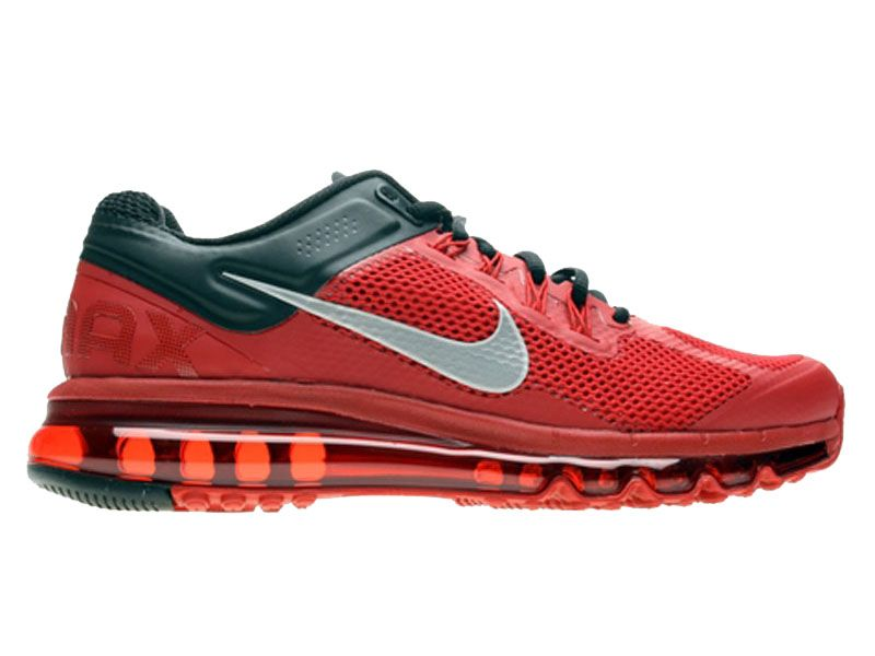 new style b9def 46b96 Nike Air Max 2013 Chaussures Nike Pas Cher Homme RougeNoir 554886-602