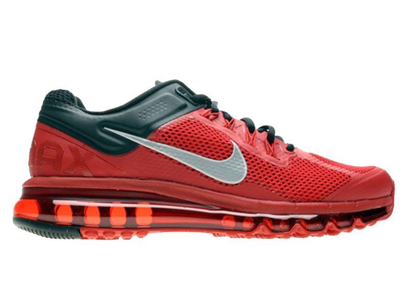acheter en ligne 9875a 02d0c Nike Air Max 2013 Chaussures Nike Pas Cher Homme Rouge/Noir ...