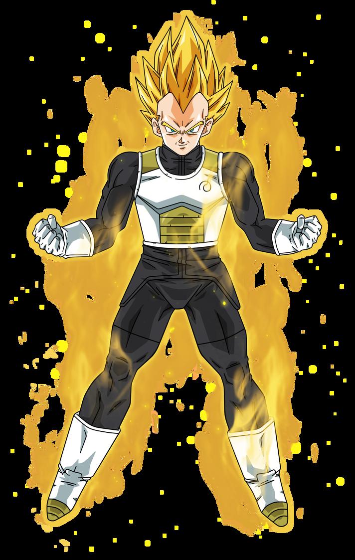 Vegeta Super Saiyan Aura By Https Www Deviantart Com Bardocksonic On Deviantart Goku Super Saiyan Goku Super Goku Super Saiyan Blue