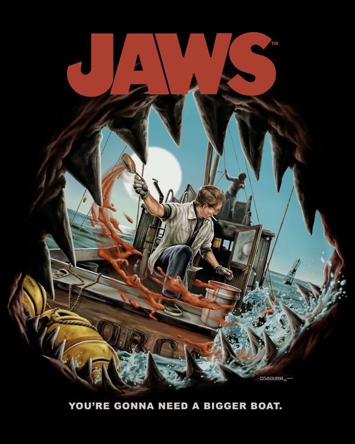 Fright-Rags' unveil their sharktastic new JAWS Collection