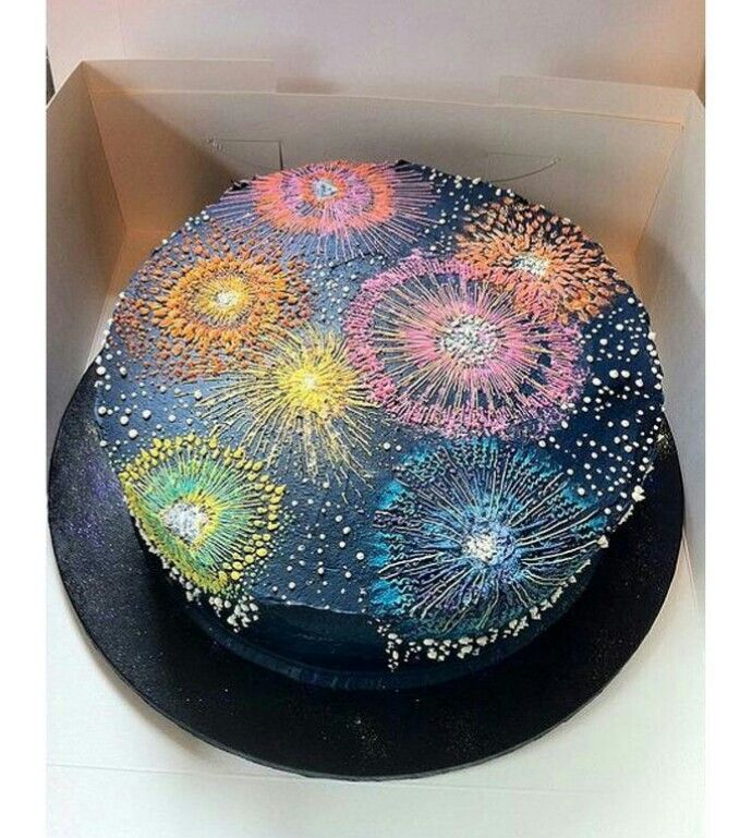 Fuochi Artificio Cake!