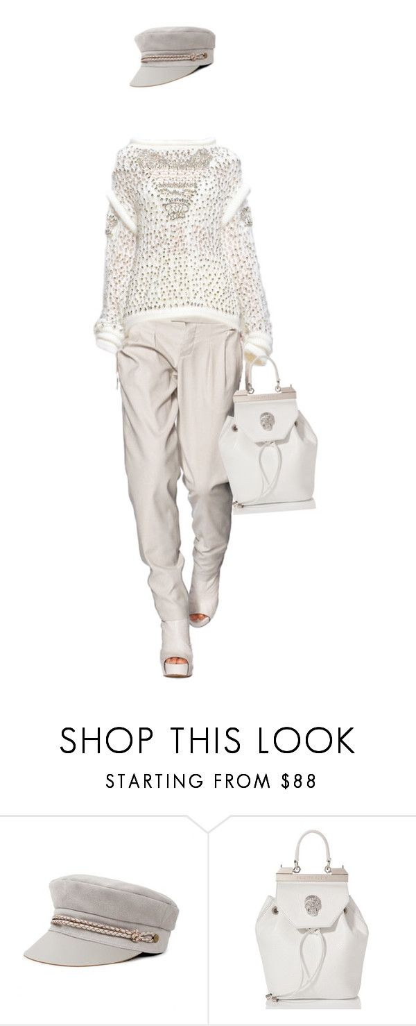"""""""Shades of White"""" by bliznec ❤ liked on Polyvore featuring Helmut Lang, Ermanno Scervino and Philipp Plein"""