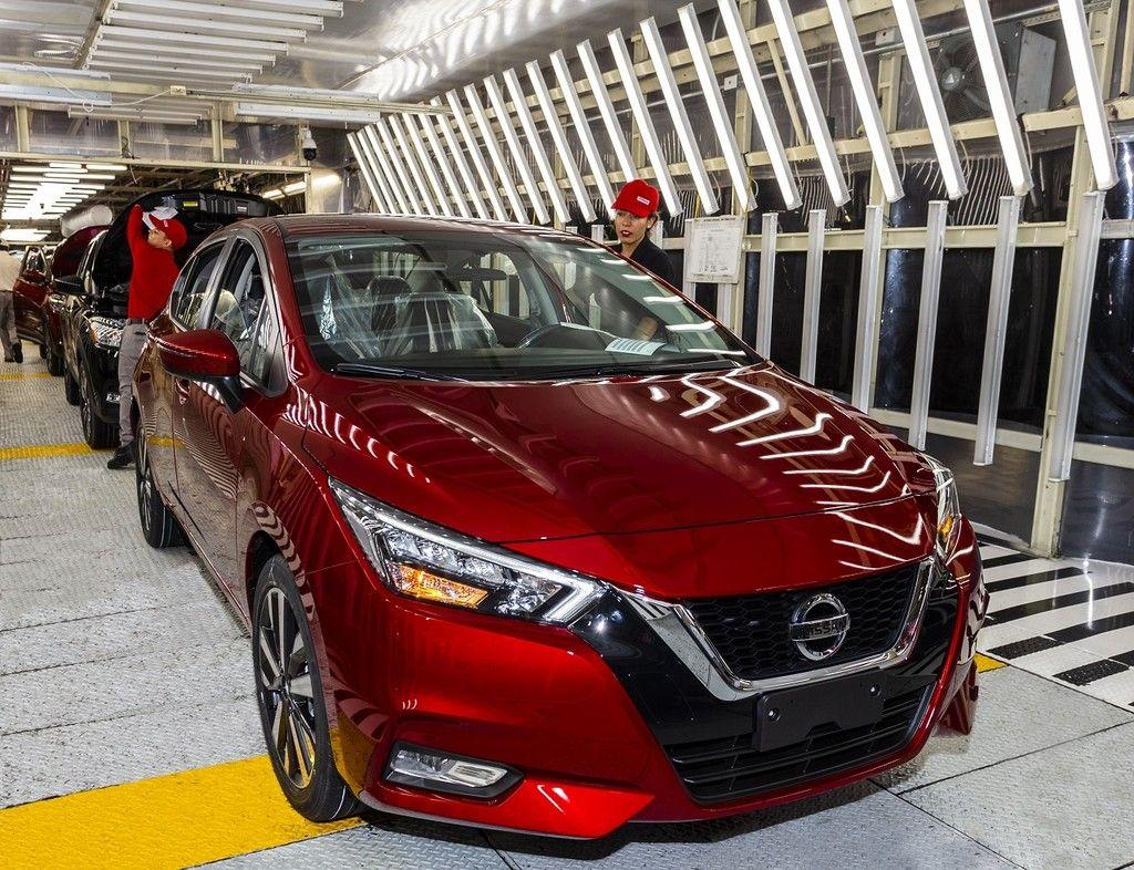 Arranca La Produccion Del Nuevo Nissan Versa 2020 En La Planta Aguascalientes A1 Automoviles Coches Motor Mexico Drive Nissan Aguascalientes Automoviles