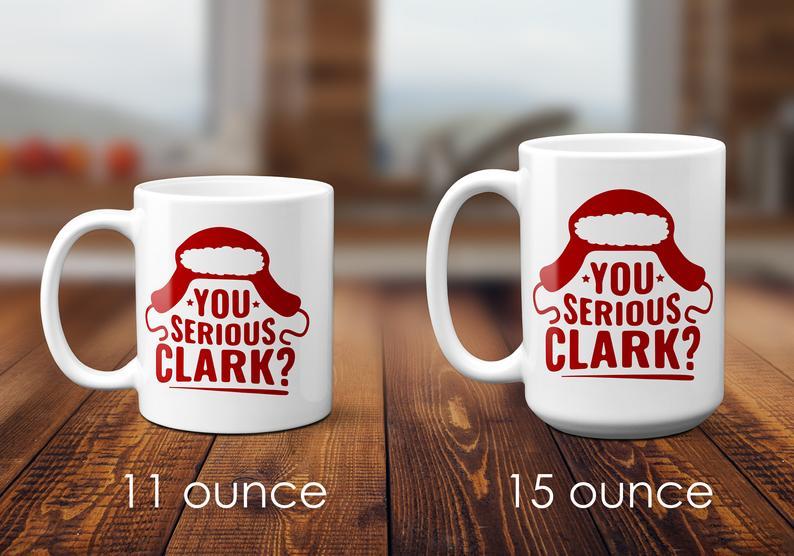 Christmas Vacation Mug Cousin Eddie Mug You Serious Clark Etsy Mugs Cool Mugs Christmas Vacation