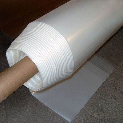 6 Mil Clear Plastic Sheeting 20 Foot By 25 Foot Extra Heavy Duty