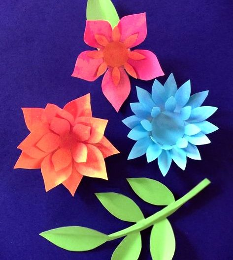 Paper flower templates and tutorials httpshappythought paper flower templates and tutorials httpshappythoughtproductday of the dead craft activity mightylinksfo