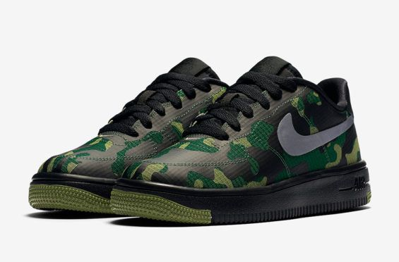Nike Places A Camo The Ripstop Nylon Upper On The Camo Air Force 1 | Sneaker 651425