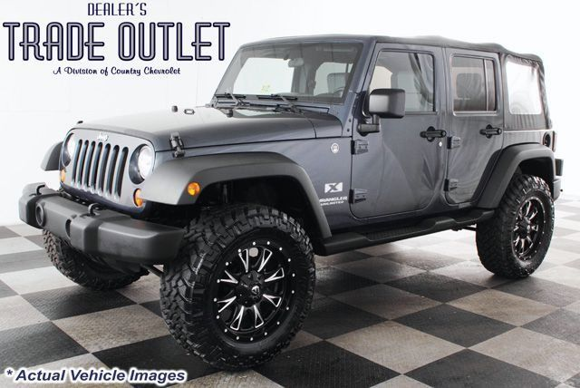 jeep wrangler unlimited lifted pictures  2008 Jeep WRANGLER 4X4