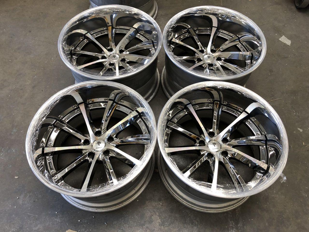 Weds Kranze Vishunu 5x114 3 19x11 5 20 19x12 5 Threepieceus Wedding Car Wheel Jdm