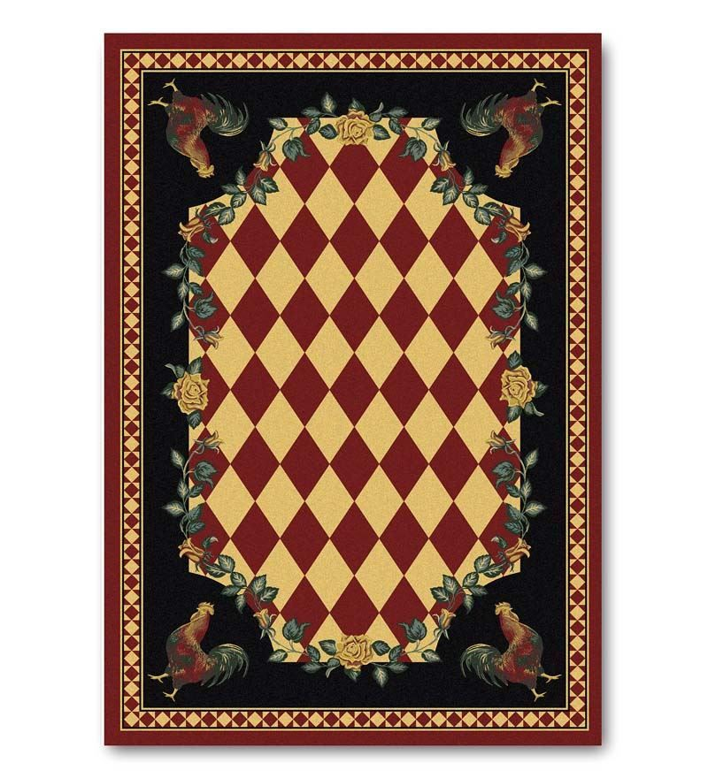 Plow And Hearth High Country Rooster Rugs