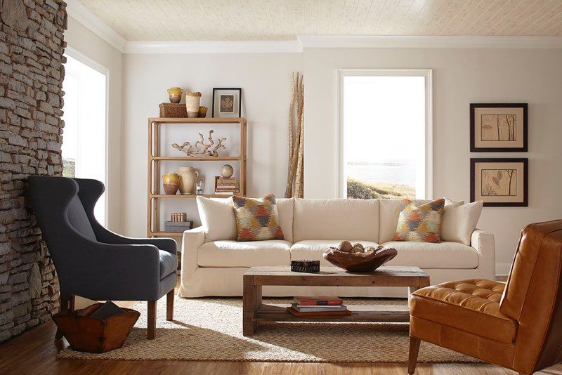 Brynne Slipcover Sofa From Robin Bruce