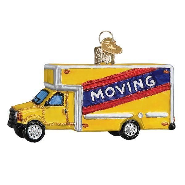 Moving Truck Ornament | Old world christmas, Christmas ...