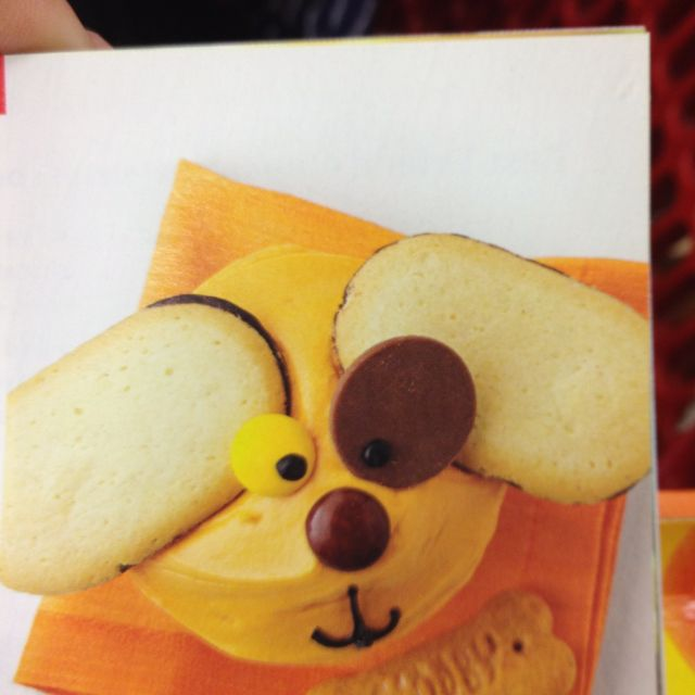 Puppy theme cupcakes