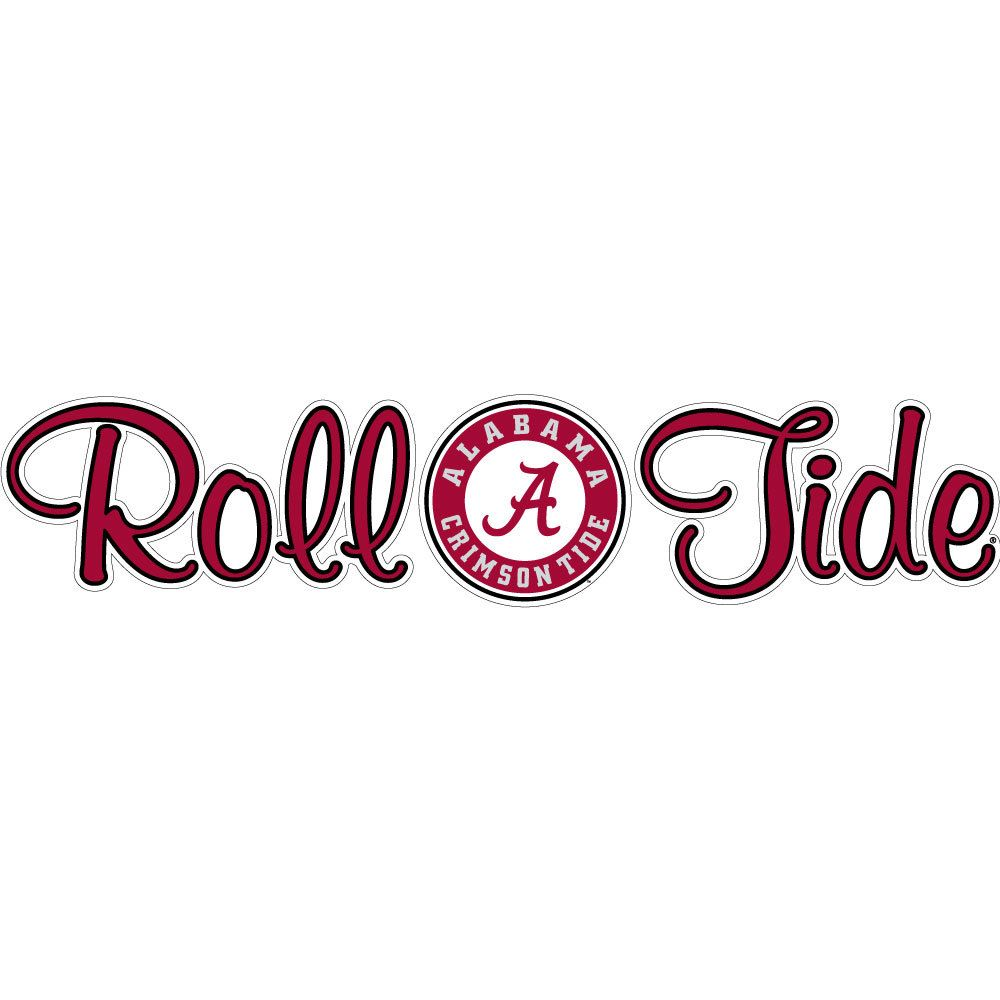 Alabama crimson tide car decals and magnets to show your alabama