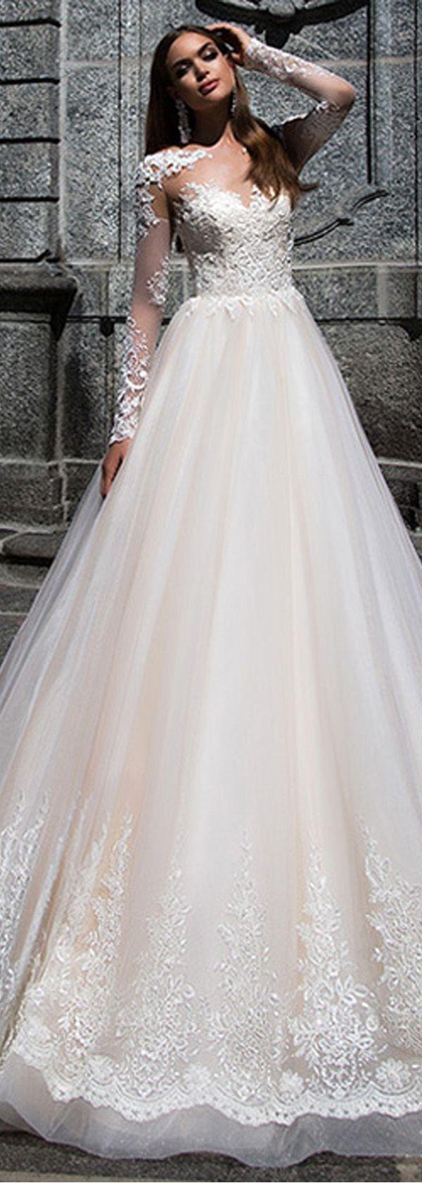 Charming Tulle Satin Bateau Neckline A Line Wedding Dresses With Lace Appliques Vestidos De Novia Princesa Vestidos De Novia Novia Princesa